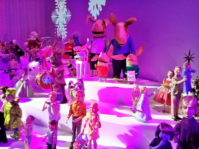 """Expostion """"Make Believe"""" Melbourne Museum Myer"""